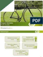 Studiu Biciclete Asociatia Green 2012