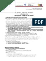 PATRONES DE DISEÑO, COMPONENTES, MEDICION DE LOS ATRIBUTOS DE DISEÑO