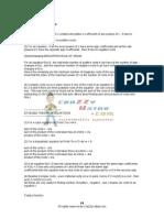 FORMULAE LIST of APTITUDE