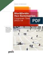Worldwide Tax Summaries 2013 2014