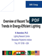 Tech Trends Energy Lighting