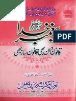 Paghamber e Khuda Qanoon Daan Bhi Aur Qanoon Saaz Bhi by Mufti Shareef Ul Haq Amjadi