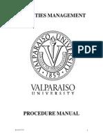 Fm Procedure Manual