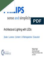 Architectural Lighting - Nilesh NaikPHILIPS