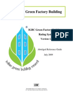 Green Factory Building Rating System - 3 Aug 091