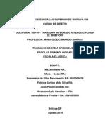 Trabalho Murilo Barros a Escola Clássica - Criminologia Hoje 13 de Ago 16h09min