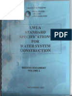 LWUA Specifications 2009 Compressed