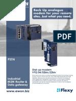 eWON Flexy - PSTN card