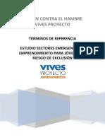 TDR - Estudio Sectores Emergentes
