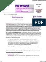Fias Co Farm- Goat Medications