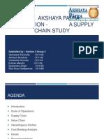 Akshaya Patra- A Supply Chain Study