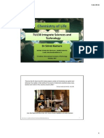Chemistry of Life 25-27Feb2014