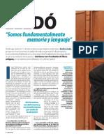 Emilio LLedó. Entrevista Junio 2014