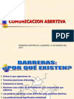 Comunicacion Asertiva Platica a Padres CAPITAN de LA MADRID