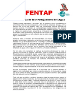Acuerdos and Fentap Agosto 2014