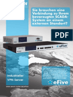 eFive - Industrieller VPN-Server