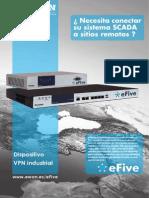 eFive - ¿ Necesita conectar su sistema SCADA a sitios remotos ?
