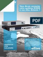eFive - Vous devez connecter votre système SCADA à vos sites distants ?