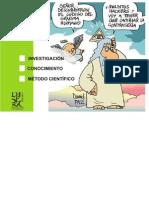Investigación - Conocimiento - Metodo Cientifico 3 de MAYO