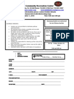Expo 2014 Form