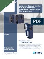 eWON Flexy - PSTN card (DE)