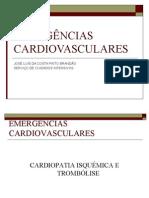 EMERGÊNCIAS CARDIOVASCULARES