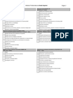 2014 Oferta Modulos Distancia GSuperior 2014 2015