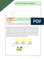 Praktikum 2 - Arus, Tegangan Dan Daya (SERI) Versi2