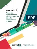 M4- L4- Aspectos Esencialmente Patrimoniales Del Derecho Internacional Privado