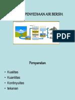 Prinsip Penyediaan Air Bersih