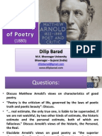 What poetry techniques are used in