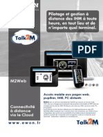 M2Web - Connectivité à distance via le Cloud