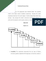 Technical Process Plan