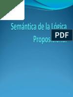 Semantica Logica Proposicional Primera Parte 2013 2