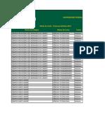Notas de Corte Sisu 2013