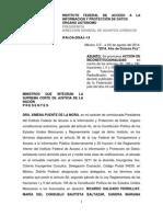 Proyecto de Acción de Inconstitucionalidad vs. #LeyTelecom rechazado por el @ifaimexico