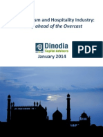Indian Tourism Hospitality Industry Rising Ahead of the Overcast January 2014 (1)