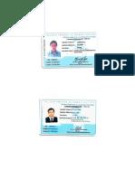 Licencia Operador y Oficial (Actual)