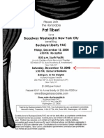 Broadway Weekend in New York City for Buckeye Liberty PAC