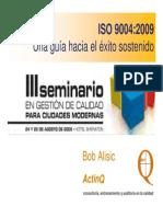 Presentación ISO 9004 v 2010