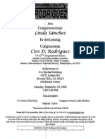 Fundraiser for Ciro Rodriguez