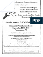 DSCC Fall Retreat for Democratic Senatorial Campaign Committee