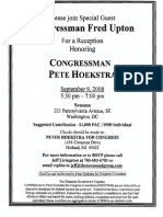 Reception for Peter Hoekstra