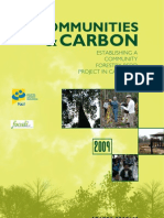 Communities and Carbon
