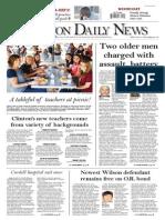 Edmondson Clinton Daily News 8-13-14
