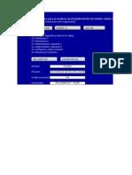 Modelo Diagnóstico Inicial OHSAS 18001 Proyectos - 0914