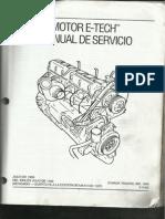 Motor E-tech Manual de Servicio (Parte 1)