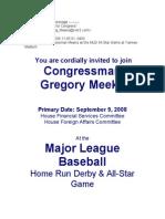 Baseball Game for Gregory Meeks