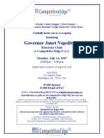 Reception for Competitive Edge PAC