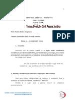 Dir.civil Aula 02 Pablo Stolze Domicílio Civil - Pessoa Jurídica